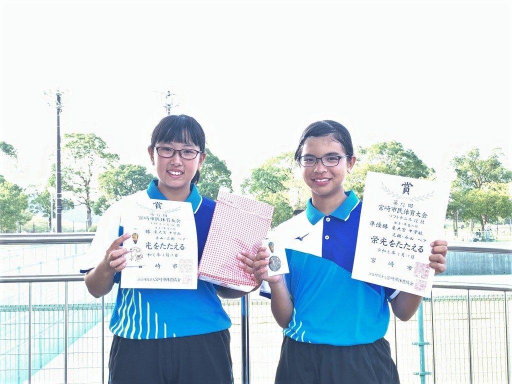 1年 準優勝 永山・三樹(東大宮)