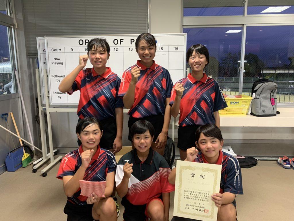 3位 宇土鶴城中学校(熊本)