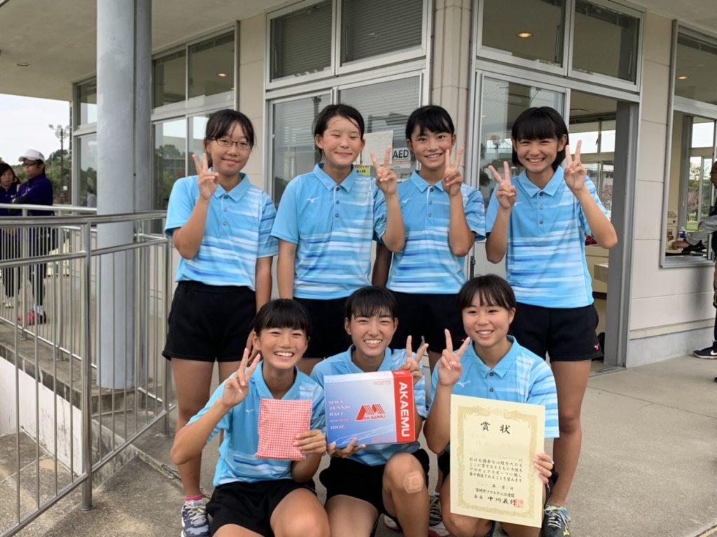 優勝 武中学校(鹿児島)