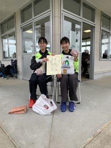A級女子 3位 松永・松本(広瀬中・住吉中)