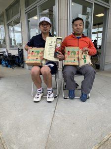 B級男子 2位 内田・野崎(ブルースカイ)